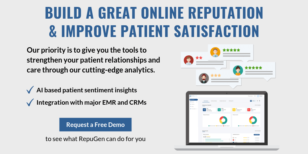 Build a Great Online Reputation & Improve Patient Satisfaction