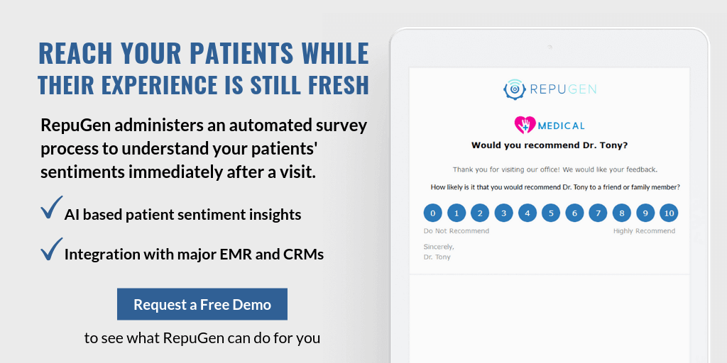 Reach Your Patients While Their Experience is Still Fresh