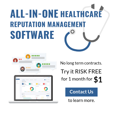 All-in-One Healthcare Reputation Management Software