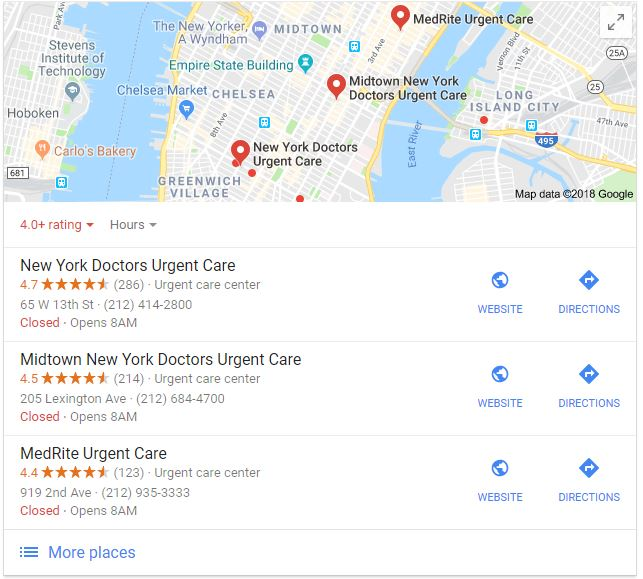boost your practice ranking in local Google search results