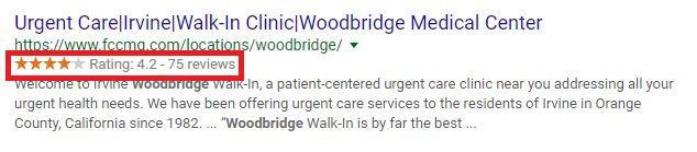Google Review Snippet - FCCMG Woodbridge