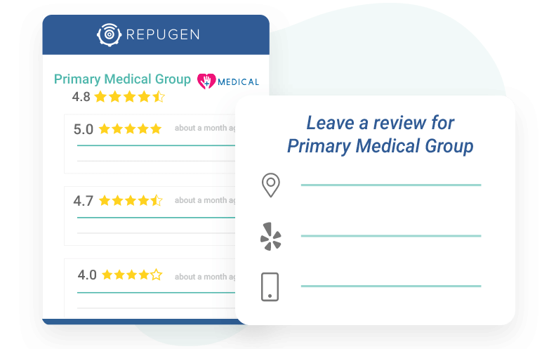 Use patient profiles to track an individual patient's journey